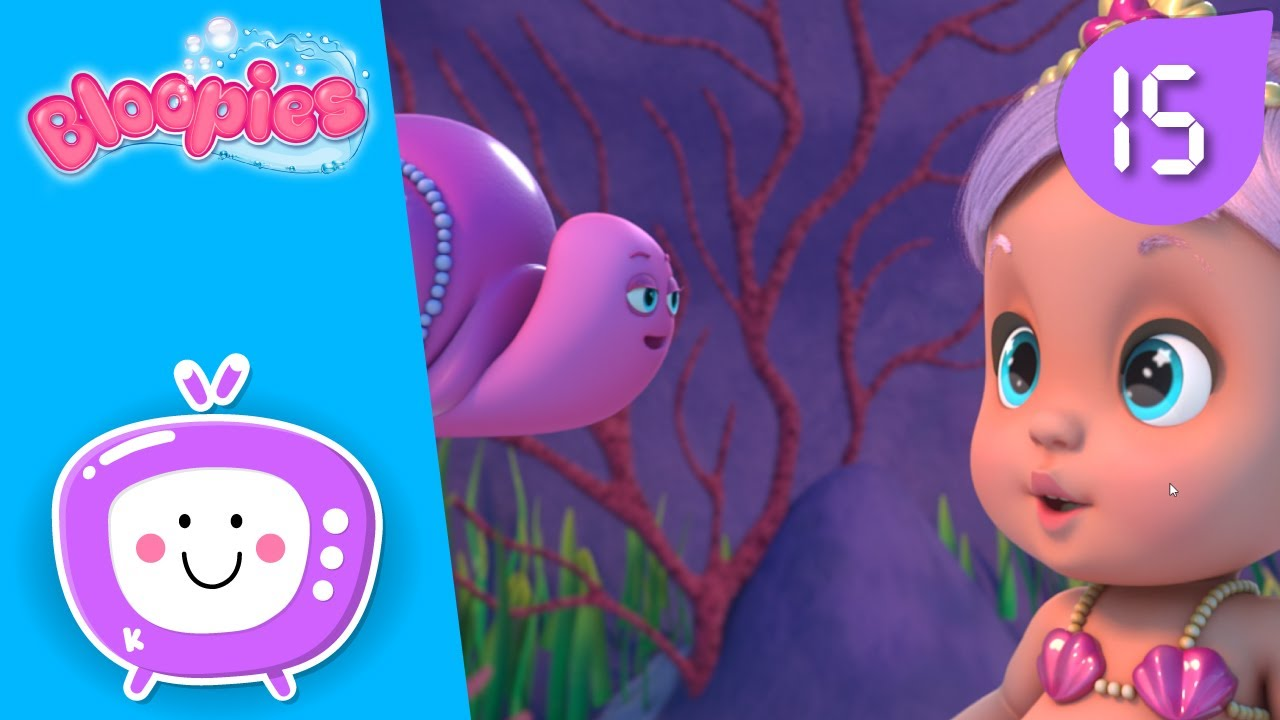 🦈 BEST ADVENTURES 🦈 BLOOPIES 🧜♂️💦 SHELLIES 🧜♀️💎 CARTOONS and VIDEOS for KIDS in ENGLISH