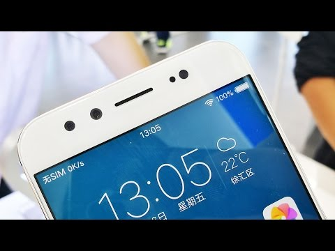 Vivo X9 hands on (english) straight out of Shanghai