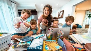 Back to School 2019 | Stay at Home Mom of 5 | Homeschool Curriculum