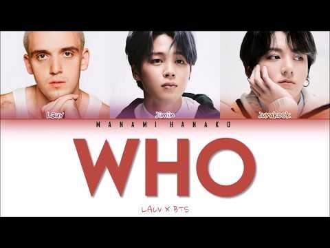 {VOSTFR/ENG} LAUV x  JIMIN & JUNGKOOK of BTS () - 'WHO' (Color Coded Lyrics Franais/English)