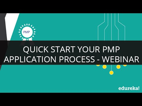 PMP Application Process | PMP Certification Exam Requirements & Questions | PMP Exam Prep | Edureka. ( PMP Certification Training - https://www.edureka.co/pmp-certification-exam-training ) Watch Sample Class recording: http://goo.gl/4vKjno This on demand Vir.... Youtube video for project managers.