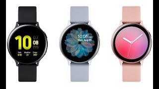 Samsung Galaxy Watch Active 2 Оснастили Сенсорным Безелем и Функцией. Apple Watch Обзор всех Функций