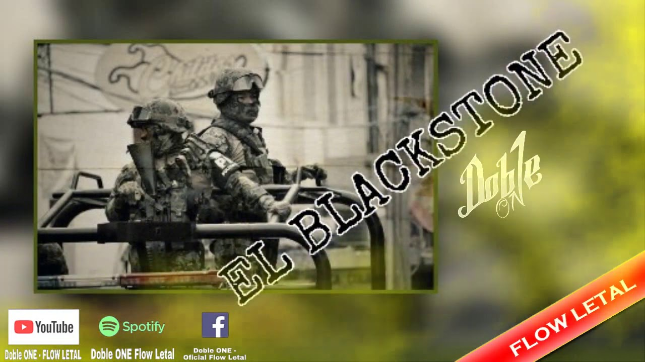 EL BLACKSTONE (Soldado PM) - Doble ONE