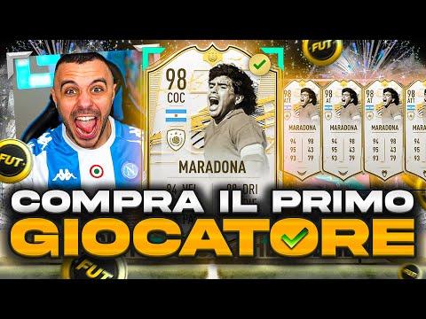 🇦🇷MARADONA 98 PRIME MOMENTS!!! COMPRA IL PRIMO GIOCATORE su FIFA 21!