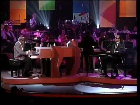 Ray Charles & Stevie Wonder.
