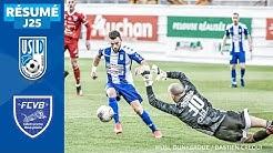 J25 | USL Dunkerque – FC Villefranche Beaujolais (1-1), le résumé | National FFF 2019-2020