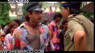 Amir Khan Entry Scene in Rangeela - Das ka Bees - Wonderful Scene