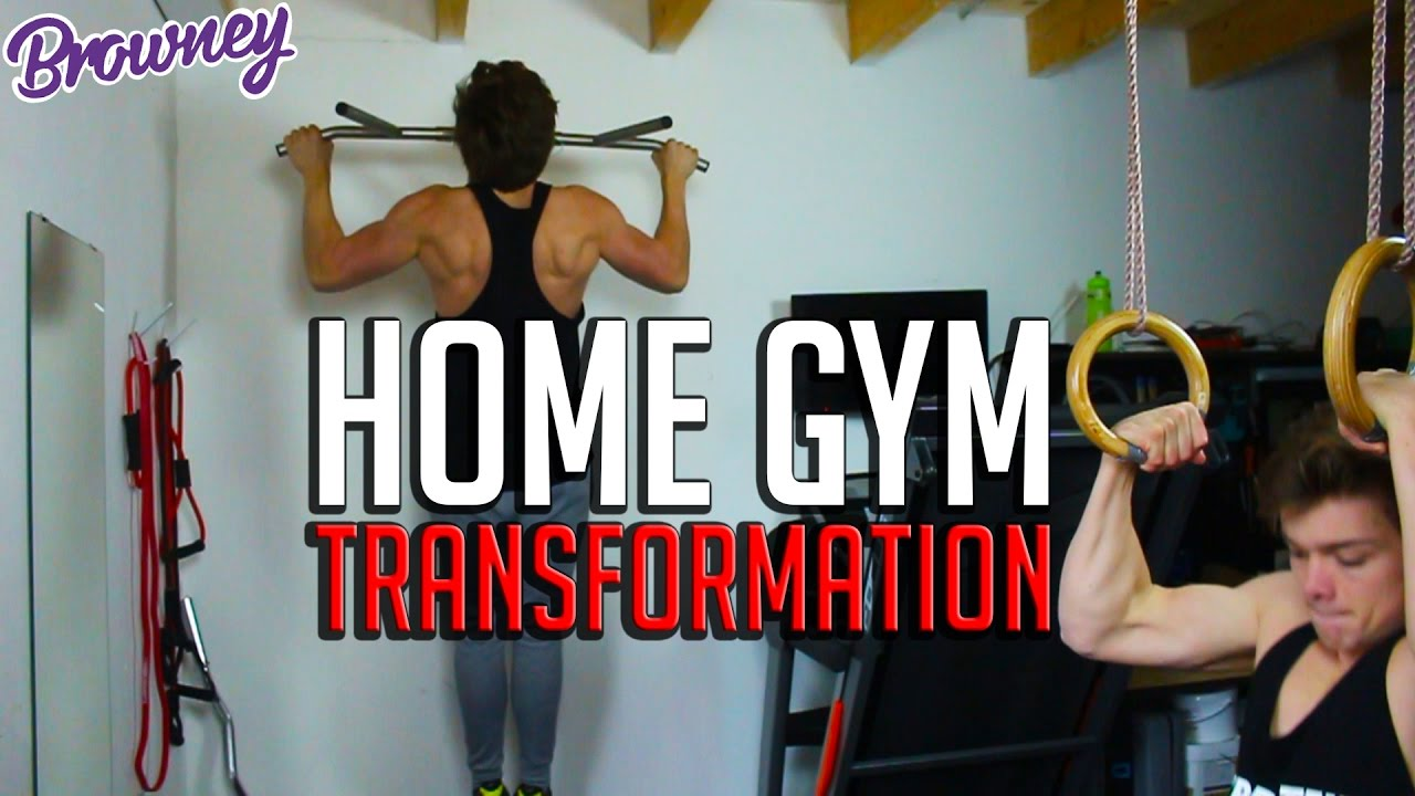 Crazy home gym transformation k special calisthenics