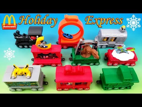 2017 mcdonald 39 s holiday express train happy meal toys - Cuisine mcdonald jouet ...