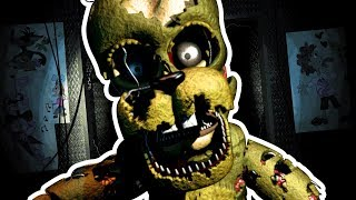 FNAF 6 PIZZERIA SIMULATOR NEW SPRINGTRAP Musical Animated Song Robot Fandroid GAMEPLAY COMMENTARY