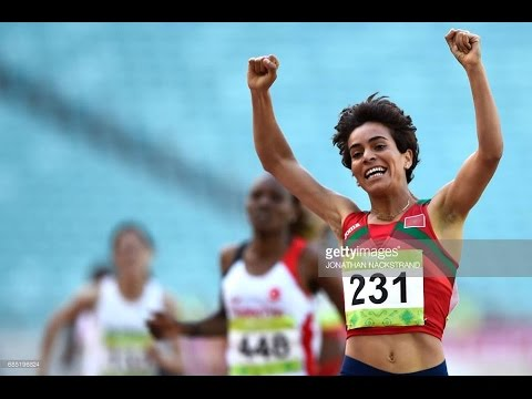 athletics/ baku 2017 | women's 1500m / rabab arrafi (morocco)