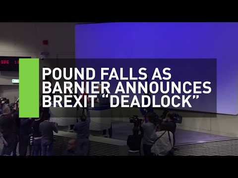 Pound plummets as Brexit negotiations reach