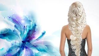 Как заплести красивую косу. Прическа из кос Braid hairstile Kapralova Olga Капралова Ольга