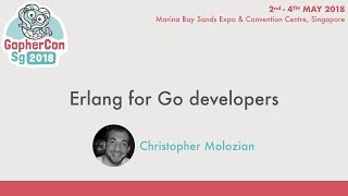 Erlang for Go developers - GopherConSG 2018
