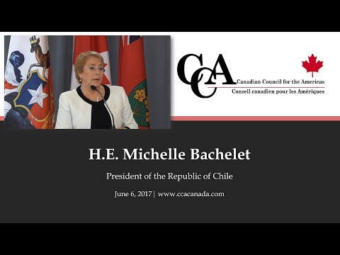 Her Excellency Michelle Bachelet, President of the Republic of Chile