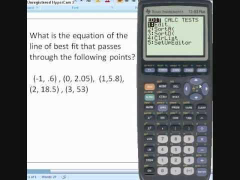 Multiple linear regression in TI-84 Plus