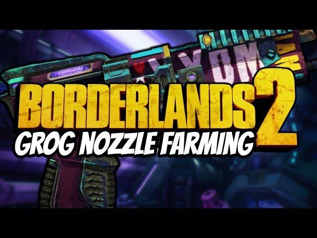 Grog Nozzle Community Patch Farming (Borderlands 2)