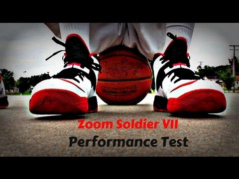 4be21cb46c5d Nike LeBron Zoom Soldier VII (7) Performance Test - YouTube