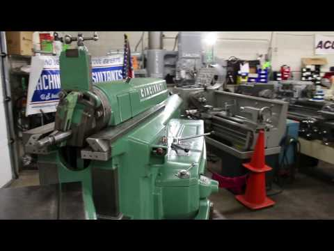 "Cincinnati 24""  Hydraulic Shaper"