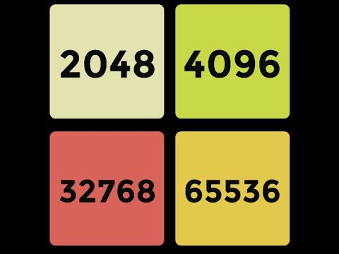 Игра 2048. Как победить. Стратегия и ошибки.