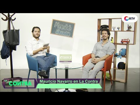 Mauricio Navarro, diseñador industrial en La Contra