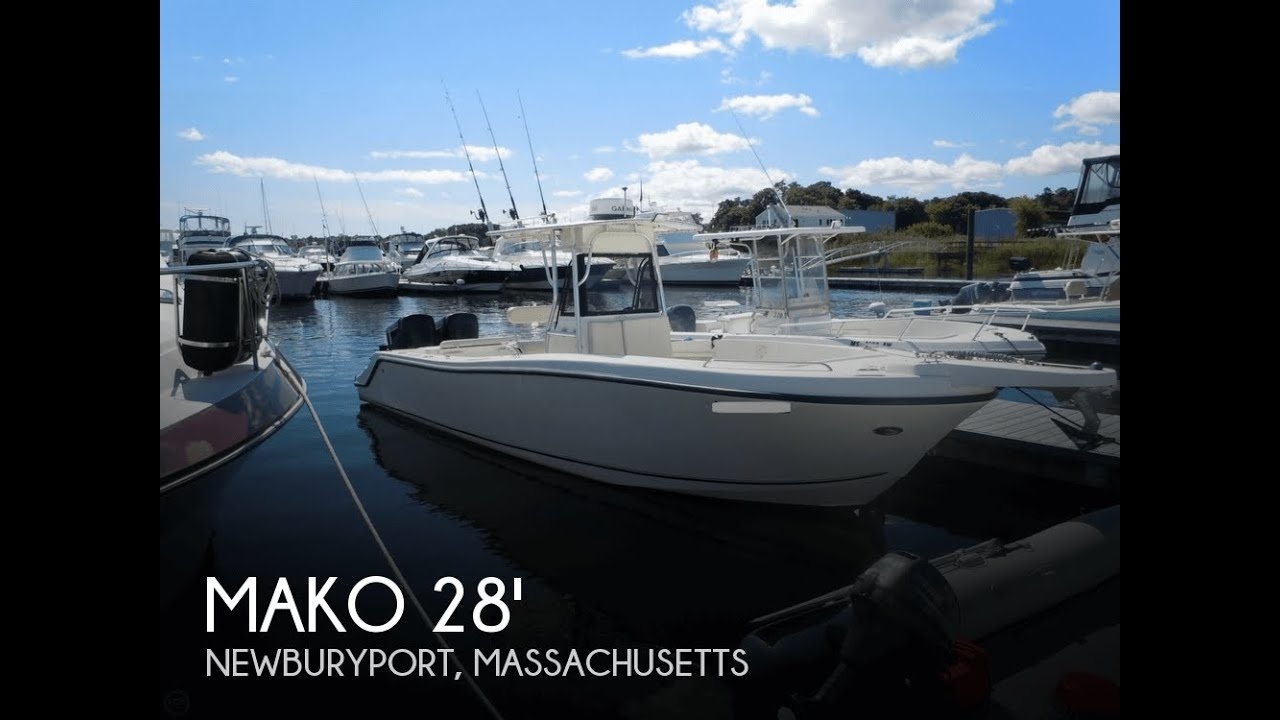 Center Console Boat >> [SOLD] Used 2000 Mako 29 Center Console Tuna Boat in Hampton Falls, New Hampshire - YouTube