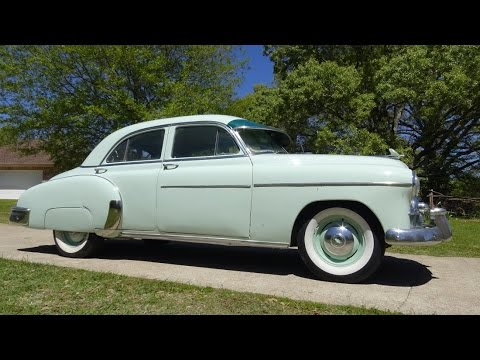 1950 Chevrolet Deluxe Sedan Post-War Pre BelAir clic 50s Chevy ...