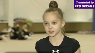 Ulyana Travkina interview / Russian rhythmic gymnast / Ульяна Травкина
