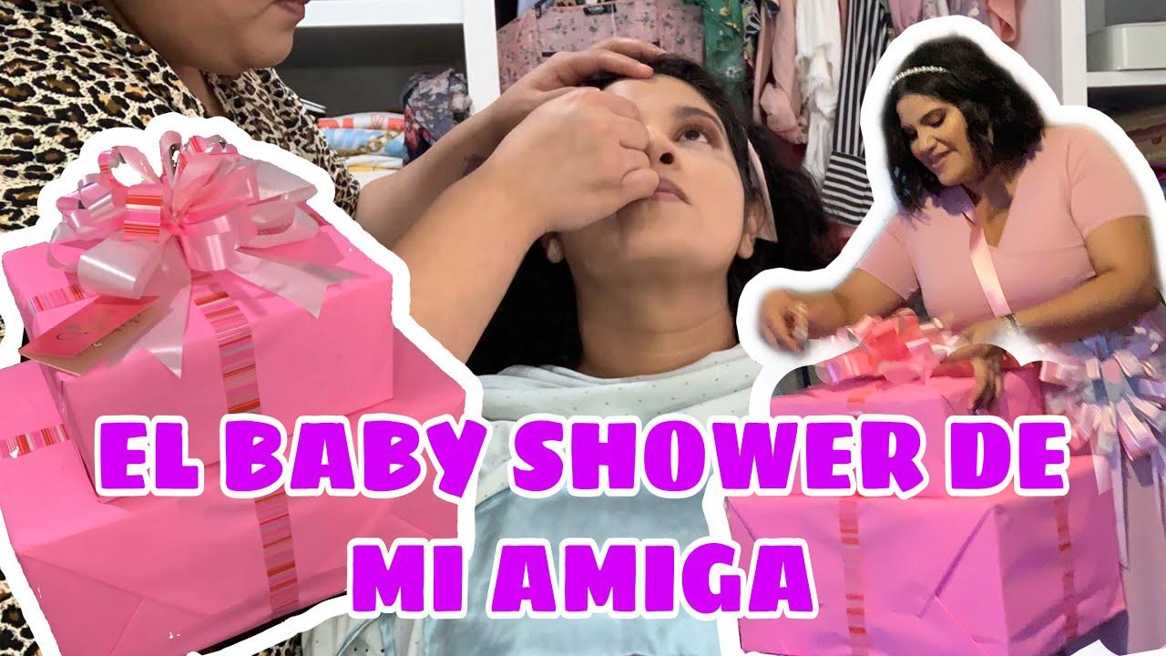 VLOG: EL BABY SHOWER DE MI AMIGA