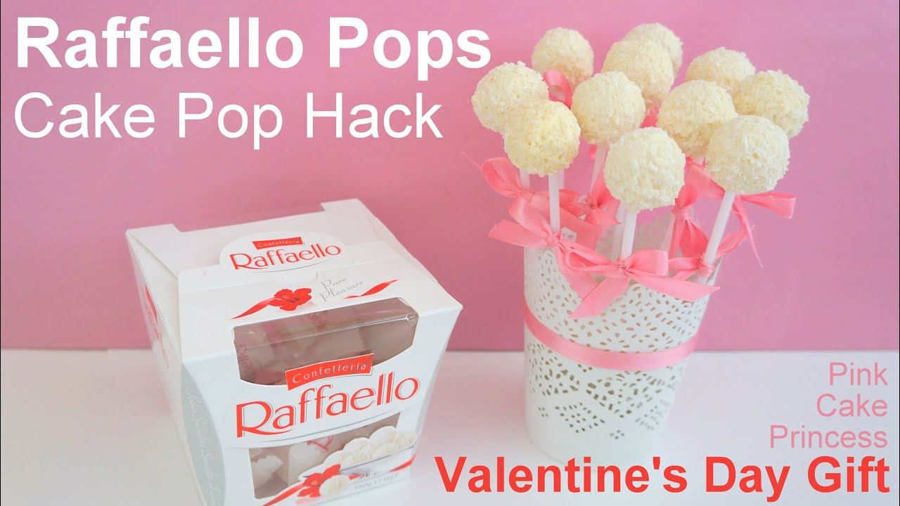Easy No Bake Cake Pop Hack How To Raffaello Pops Bouquet