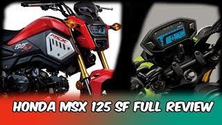 MOTOR MINI TERBARU!! Detail Honda MSX 125 SF and Review