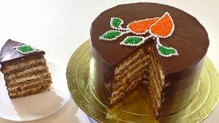 Рецепт очень популярного торта.  Как приготовить морковный торт