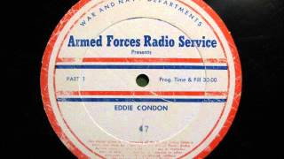EDDIE CONDON Live Jazz Radio Concert c.1945
