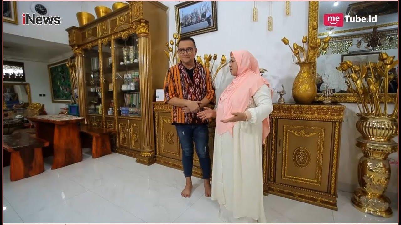 Bernuansa Emas Mewahnya Rumah Mamah Dedeh Part 02 Alvin Friends