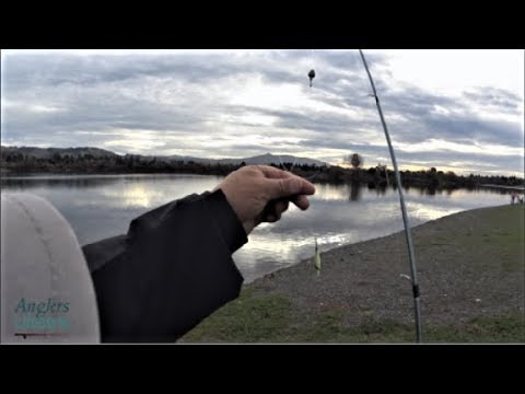Fishing Stormy Weather At Quarry Lakes Fremont CA