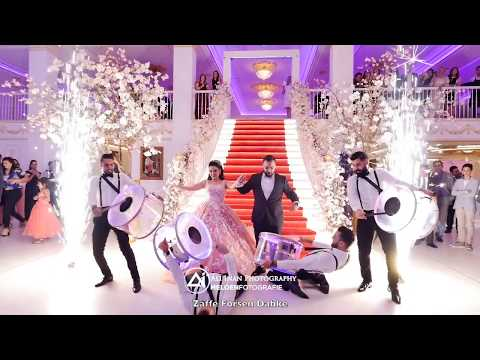 AWESOME AFGHAN WEDDING WITH LEBANESE ZAFFE FORSEN DABKE