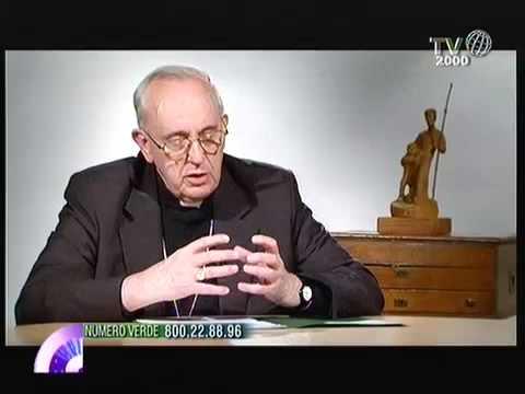 Il Cardinale Bergoglio illustra la figura di San Giuseppe - IL VIDEO