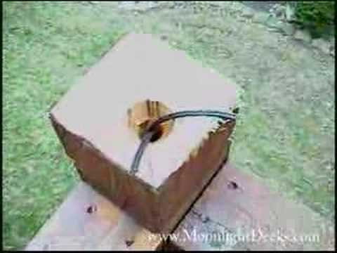 How to wire low voltage deck lights pt 5 running wire youtube how to wire low voltage deck lights pt 5 running wire mozeypictures Gallery