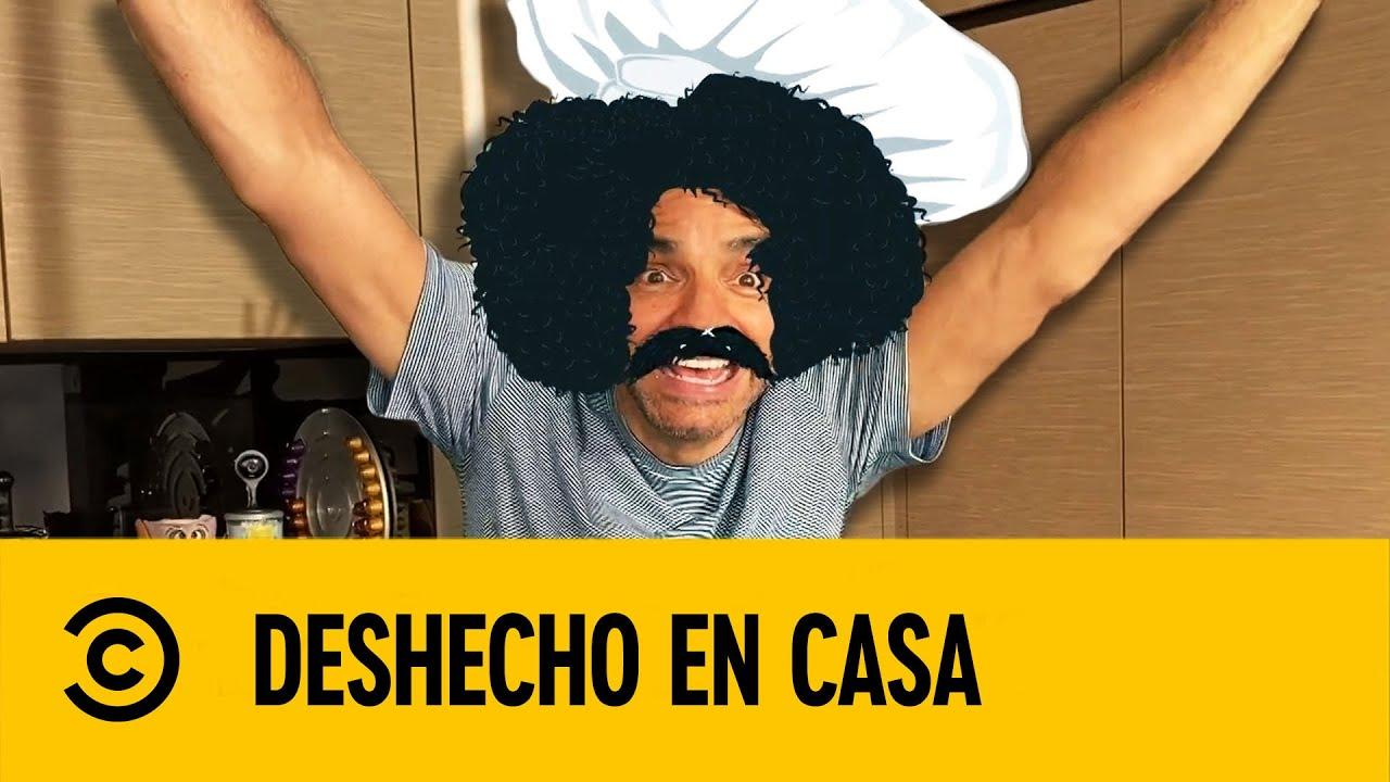 Eugenio Derbez Enseña a Hacer Salsa | DesHecho En Casa | Comedy Central LA