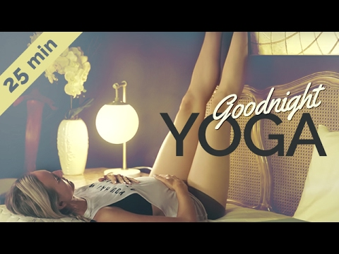 Ultimate Relaxing Bedtime Yoga For Beginners | No Yoga Mat Required (25-min)