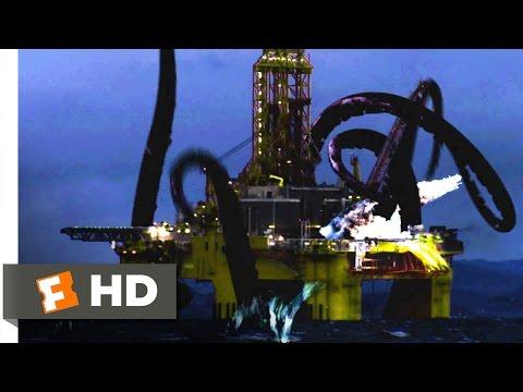 Mega Shark vs. Giant Octopus (1/10) Movie CLIP - Oil Rig Obliteration (2009) HD