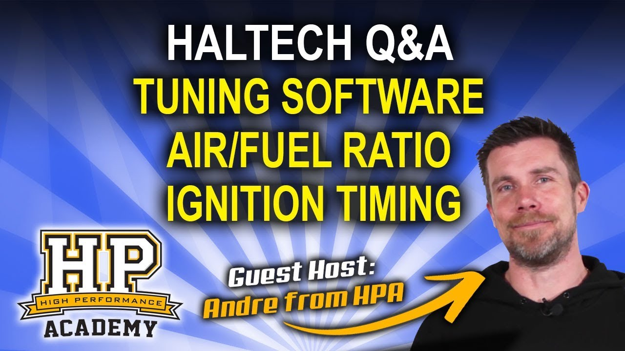 Air/Fuel Ratio, Ignition Timing, Tuning Softwares - Haltech Q&A Episode 27