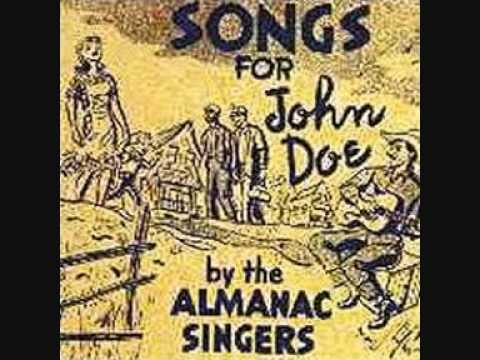 The Almanac Singers - Liza Jane
