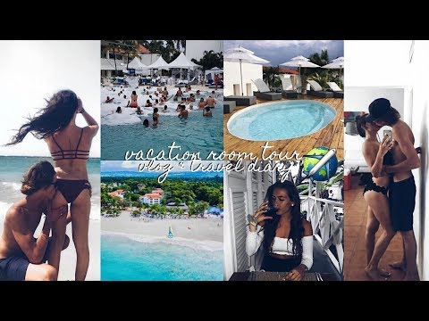 """VACATION ROOM TOUR AND """"TRAVEL DIARY"""" VLOG - DOMINICAN REPUBLIC 2017"""