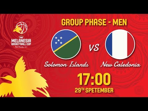 Solomon Islands v New Caledonia - Full Game - FIBA Melanesia Basketball Cup 2017
