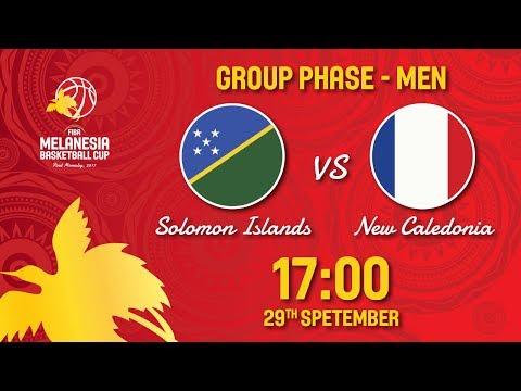 Solomon Islands v New Caledonia - Full Game - FIBA Melanesia Basketball Cup 2017