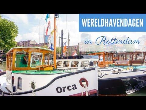 Rotterdam Travel Vlog: World Port Days Festival | THE HOSTEL GIRL