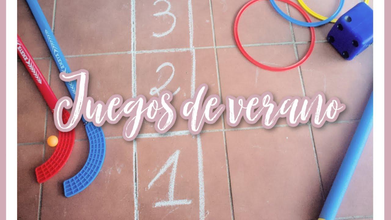 5 JUEGOS + 1 DIY para este VERANO con MATERIAL ESCOLAR