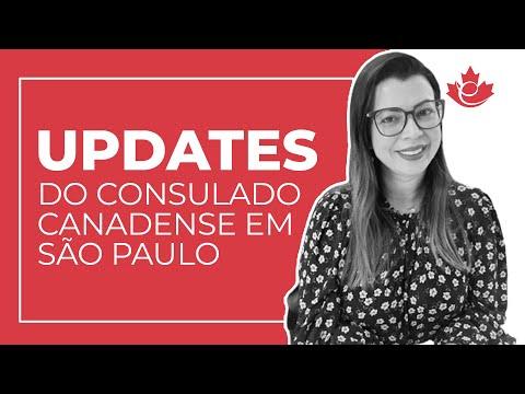 UPDATES DO CONSULADO CANADENSE EM SÃO PAULO