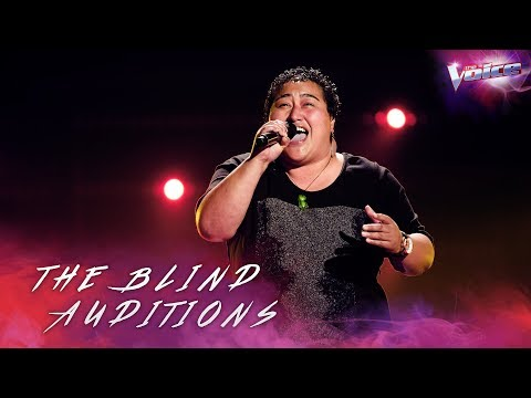 Aunty Ora sings One and Only | The Voice Australia 2018